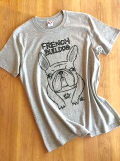 フレンチブルドッグTシャツ しっかりタイプ - 人とワンコの絆を繋ぐハンドメイド雑貨 WANS.tokyo
