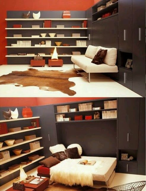 20 ideas creativas de ahorro de espacio para el hogar - La Casa Gris