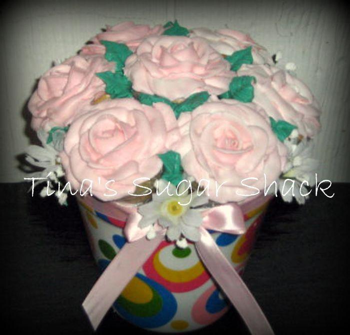 Cupcake Bouquet Disaster!! | Cupcakes | Pinterest | Cupcake flower ...