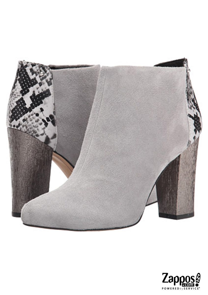 95870cf8e48506 Fall in love with the simple yet contemporary Circus by Sam Edelman Bond  booties this season! Crafted with suede leather and a metallic chunky heel.