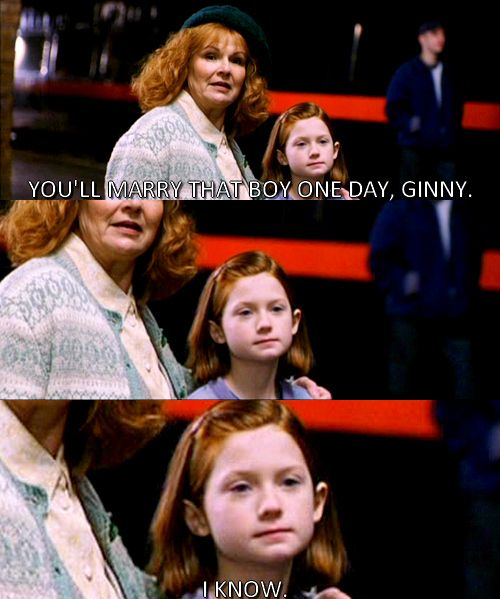 Not Mine But So Funny Ginny S Very Determined Harry Potter Jokes Harry Potter Memes Harry Potter Images