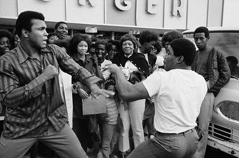 LIFE: Boxer Muhamad Ali sparring playfully w. ... - Hosted by Google