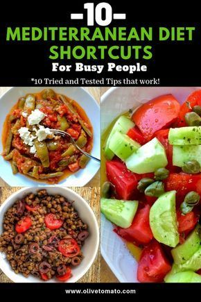 Photo of 10 Mediterranean Diet Shortcuts for Busy People | Olive Tomato