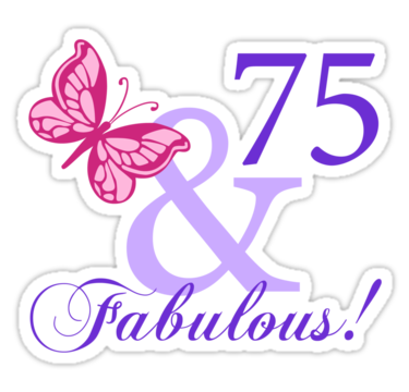 75th birthday cake ideas fabulous 75th birthday by thepixelgarden