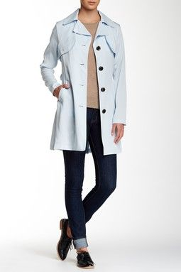 Vince Camuto Drapey Trench