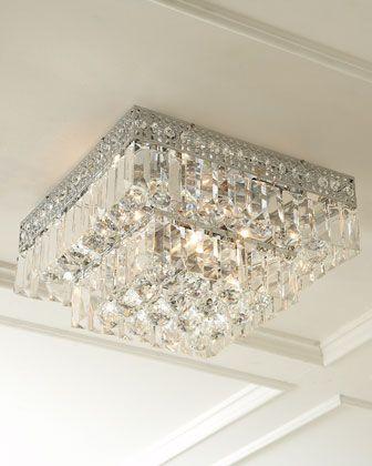 Hcs12 2u4u Ceiling Fixtures Bedroom Ceiling Light Crystal Light Fixture Ceiling mount crystal chandelier