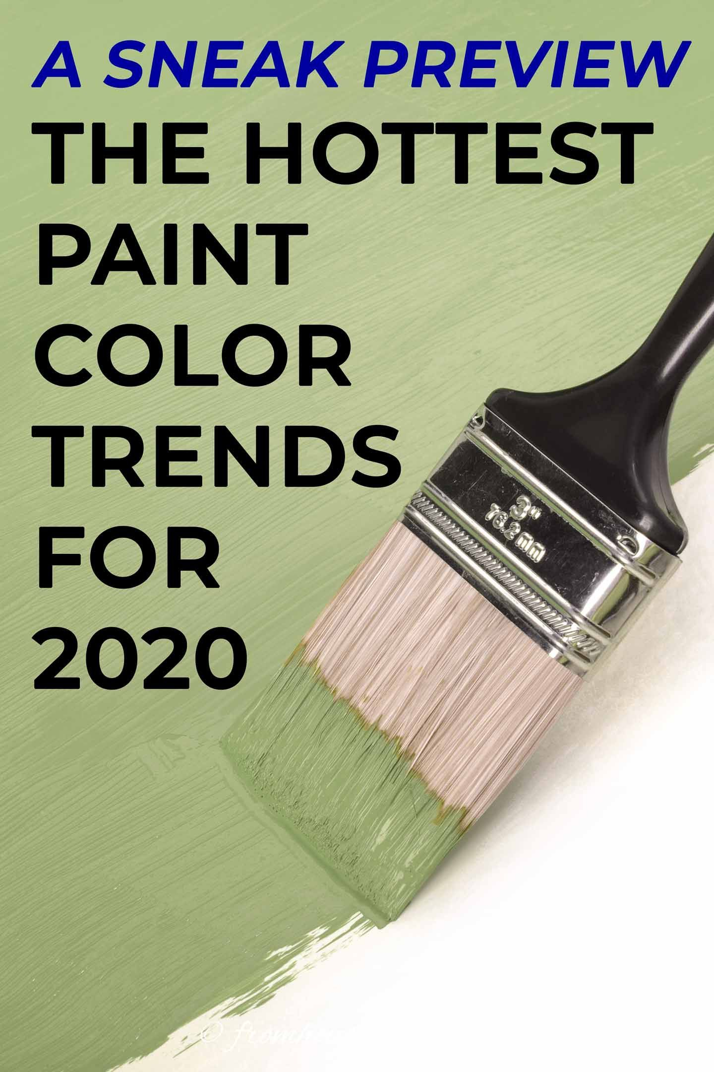 the hottest 2020 paint color trends trending paint on popular house interior paint colors id=41995