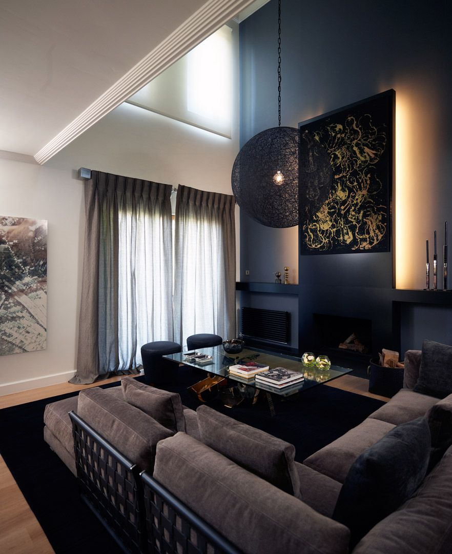 An Athens Home Showcases Dark And Moody Interiors Home Interior