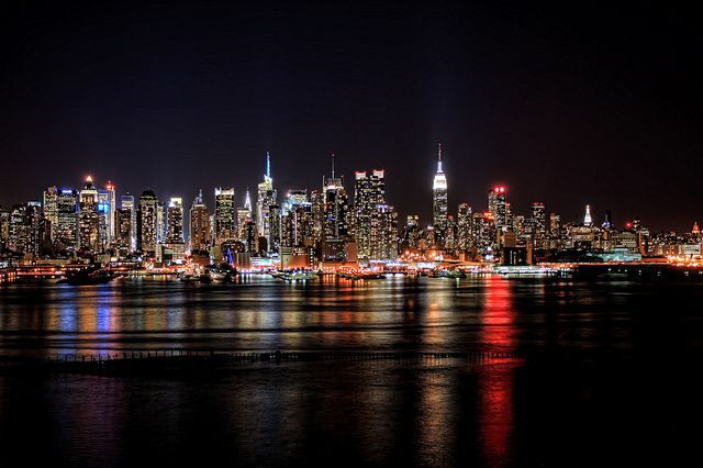 View From Chart House Weehawken New Jersey