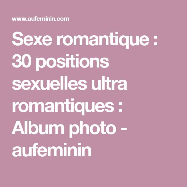 sexe romantique