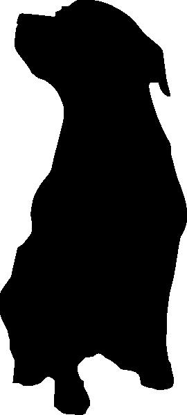 image detail for rottweiler dog silhouette clip art vector clip rh pinterest com rottweiler clipart black and white Black and White Vampire