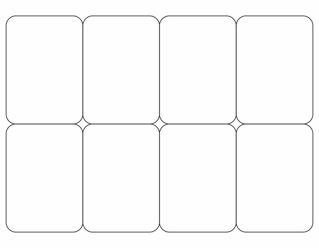Playing Card Template Flash Card Template Printable Cards Blank Playing Cards Blank playing card template word