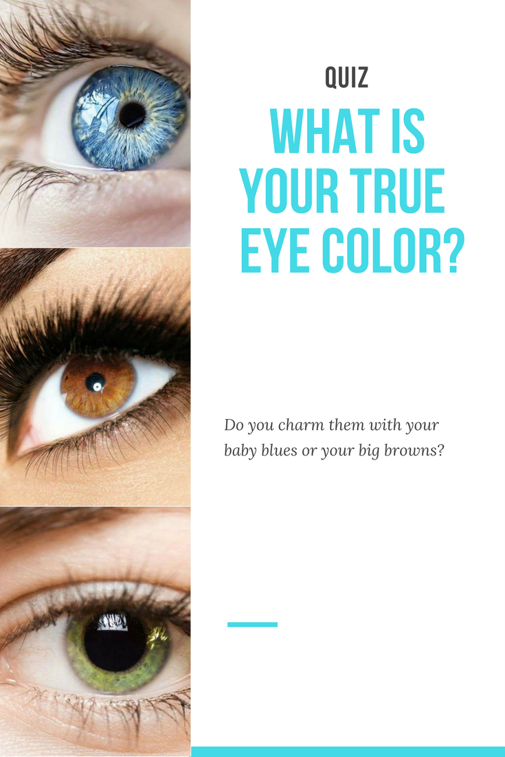 What is your true eye color? | Fashion and Beauty | Green