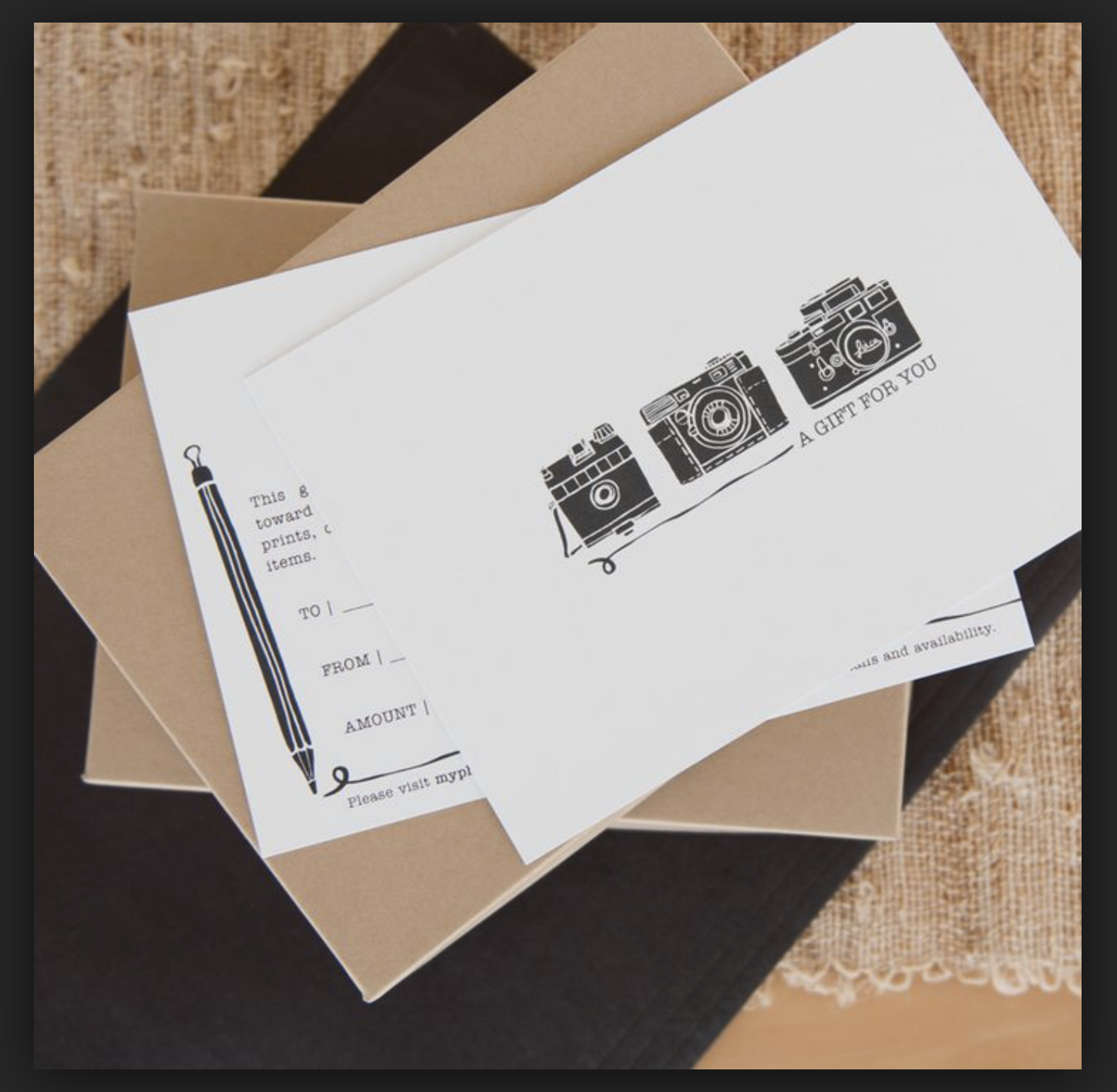 Pin Auf Photography Business Cards