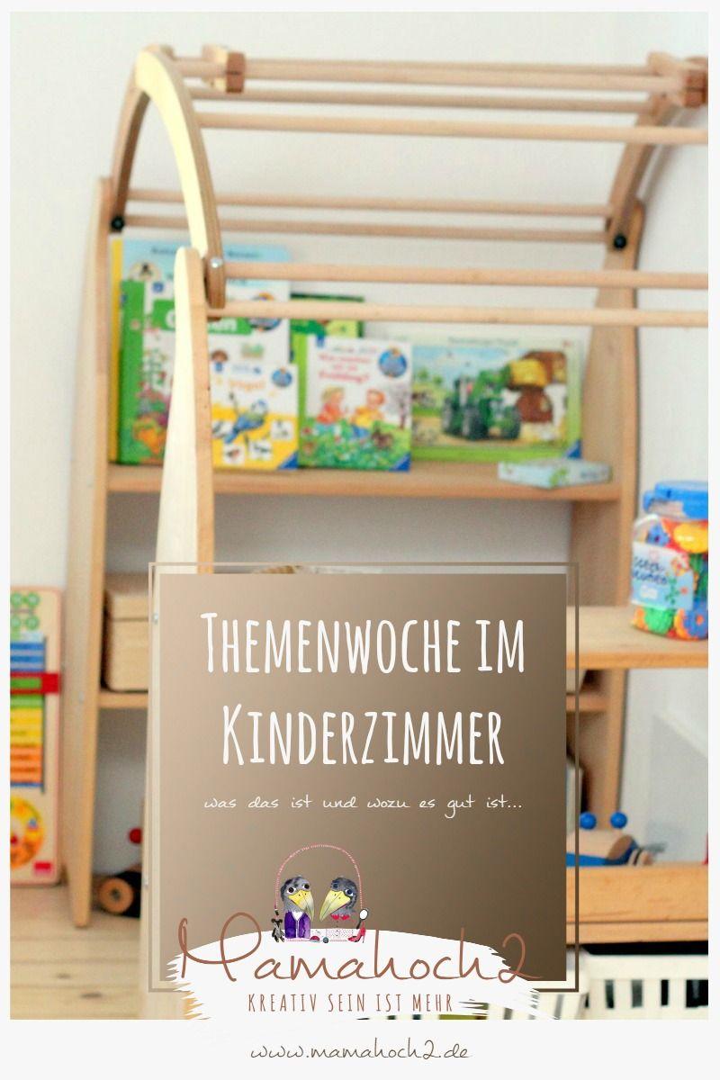 Themenwoche Montessori Kinderzimmer Inspiration