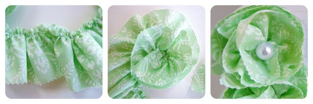 some rosettes and this makes a great handmade