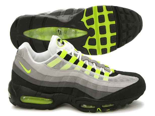 Nike Air Max 95 In Original Colourway These Sneakers Were The