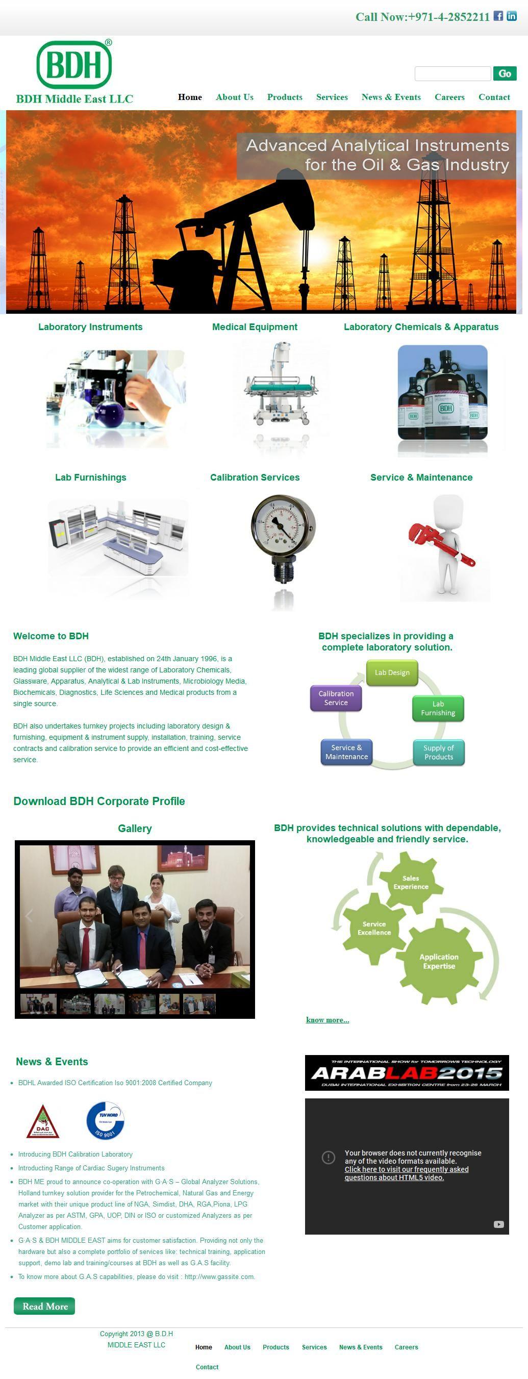 Bdh Laboratories Calibration Division Company Hafele Group