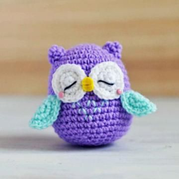 mr murasaki owl amigurumi pattern | Crafts - Crochet | Pinterest ...