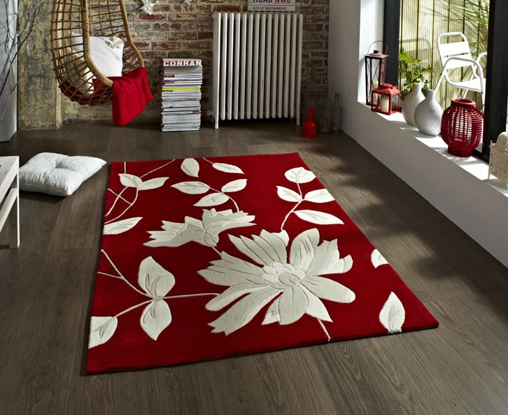 Hong Kong 2085 Red Bargain Rugs From Rug Direct