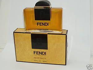 FENDI Original Classic by Fendi Women Perfume 3.3 oz Eau de Toilette Splash RARE