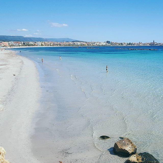 Lido San Giovanni Alghero Sardegna Sardinia Landscape Sea Beach Sardaigne Italia Italy Instasardegna Igersardegna Lanuovasarde Alghero Beach Beautiful Places