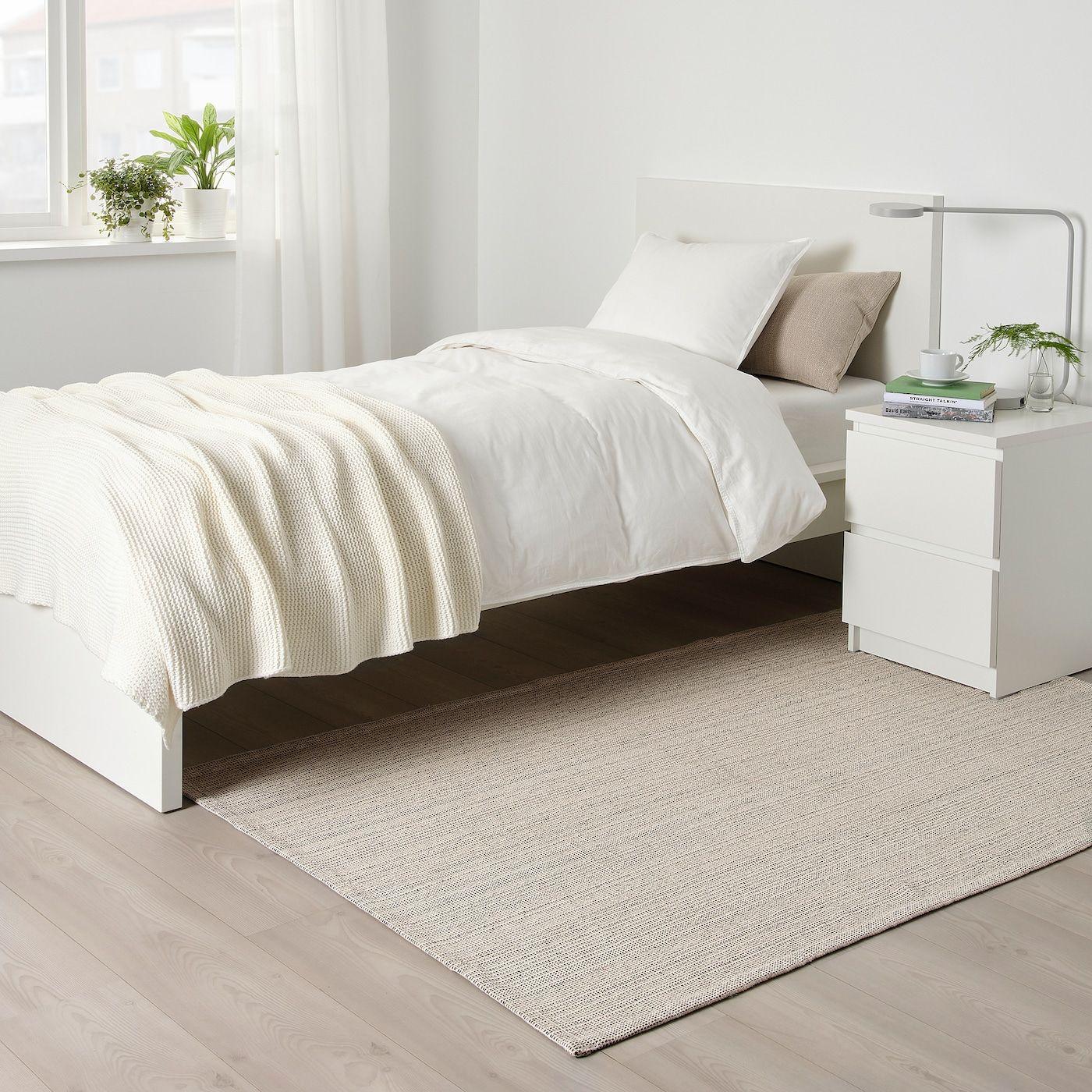 Tiphede Teppich Flach Gewebt Natur Elfenbeinweiß 120x180 Cm Ikea Österreich Teppich Flach Gewebt Zimmer Gestalten Teppich Unter Dem Bett
