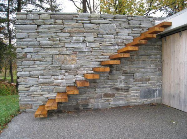 escaleras flotantes exteriores - Buscar con Google Stairs