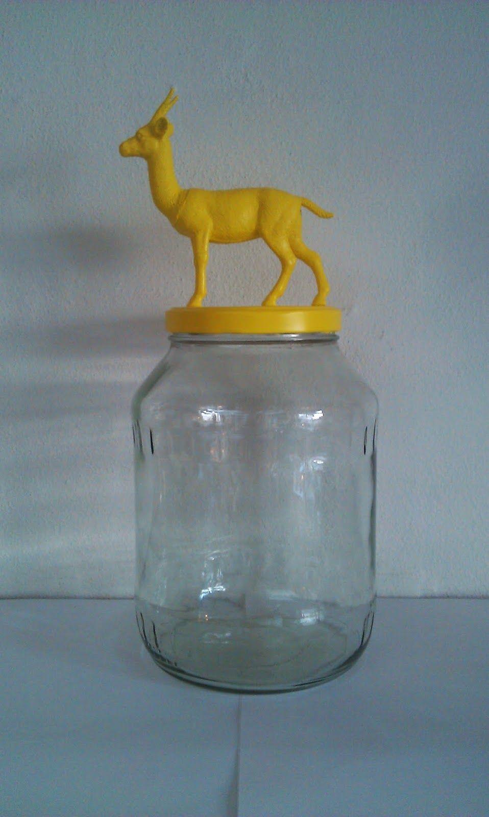 BeaSilke Design: NOAS ARK opbevaringsglas