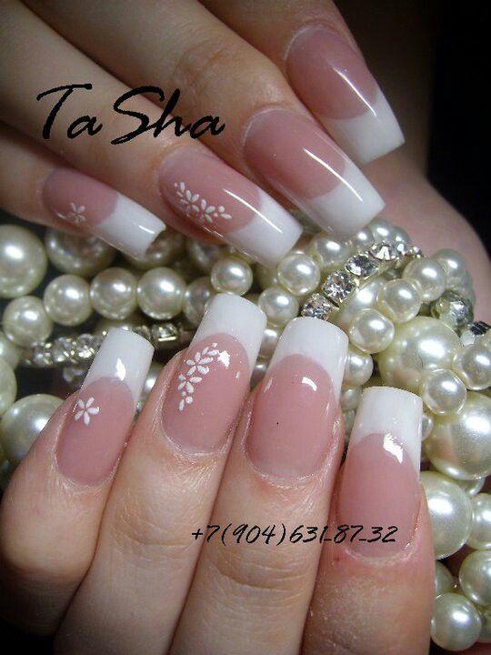 Perfectas para una novia   uñas elegantes   Pinterest   Perfecta ...