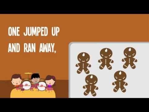 five little gingerbread men song lyrics christmas songs for kids youtube - Christmas Songs Lyrics Youtube