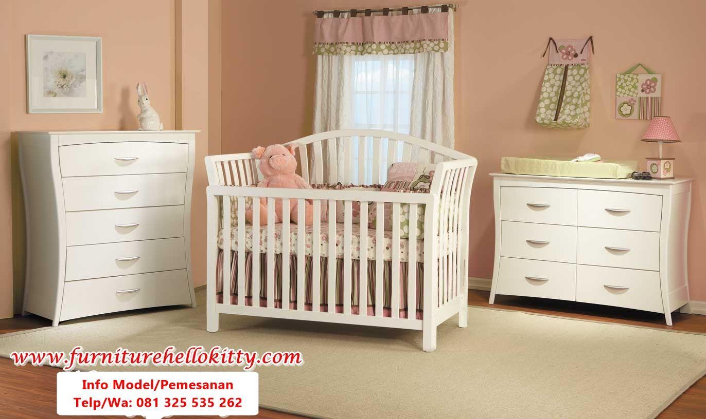 model set tempat tidur bayi terbaru Tempat tidur bayi