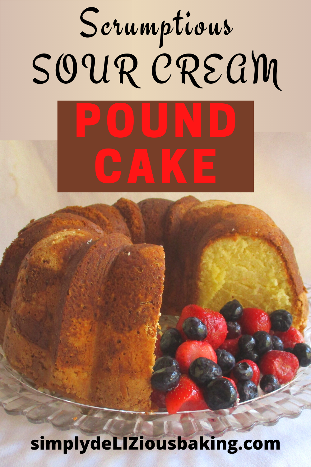 Pin On Easy Pound Cakes From Scratch