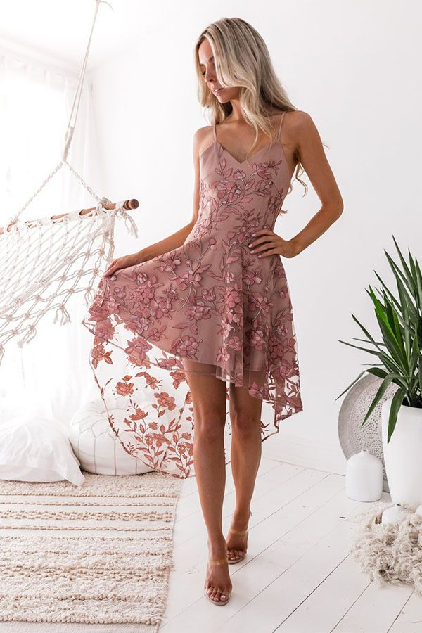 2019 Womens Lace Bodycon Dress Embroidery Ball Gowns Cocktail Formal Short Dress