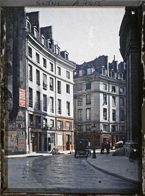 Des Photos De Paris En Couleur En 1900 Paris Paris Ciudad Fotos