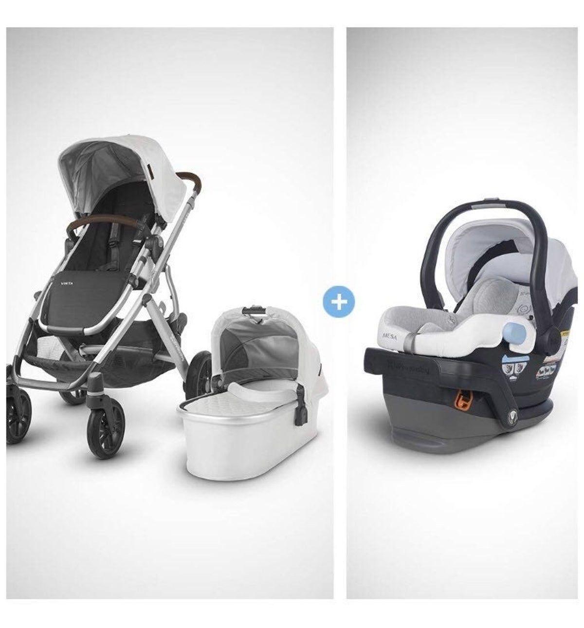 stroller vista 2019 + car seat+ base in 2020 Baby car