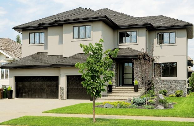 Black Stucco House Google Search Restortaion Exterior