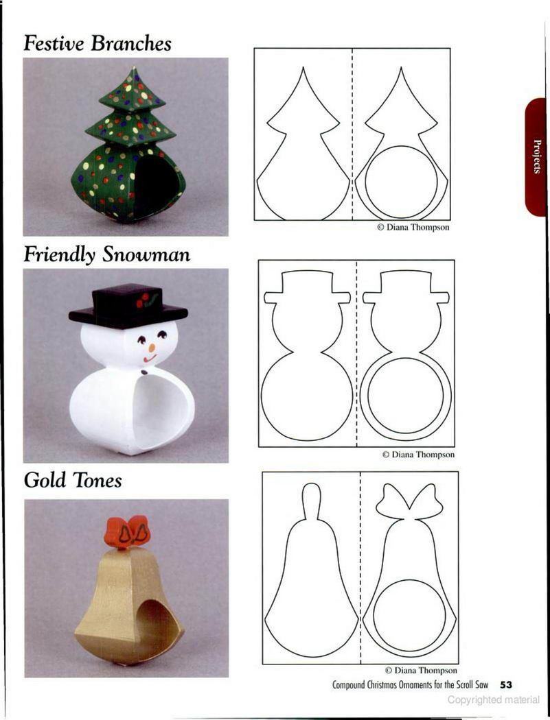 Woodtools Книги compound christmas ornaments for the scroll saw