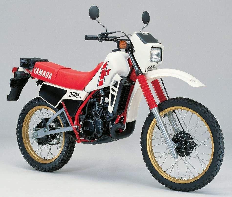 dt 125 1982 yamaha pinterest wheels dirtbikes and. Black Bedroom Furniture Sets. Home Design Ideas