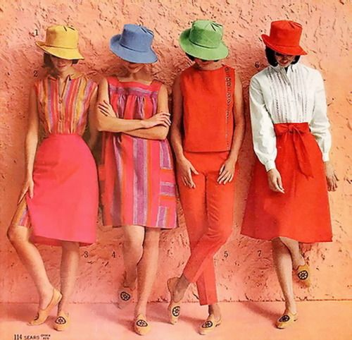 """Sears 1964 Summer Catalogue- Liz and I used to look at these catalogues and say """"If you had a million dollars, what would you get?"""""""