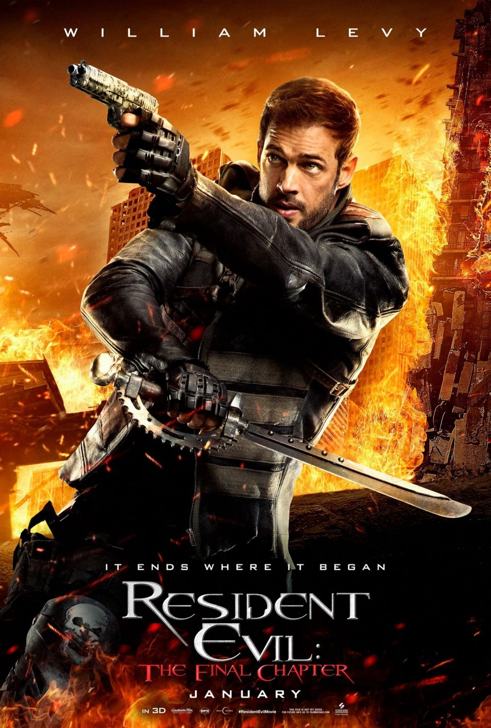 Resident Evil The Final Chapter William Levy As Christian