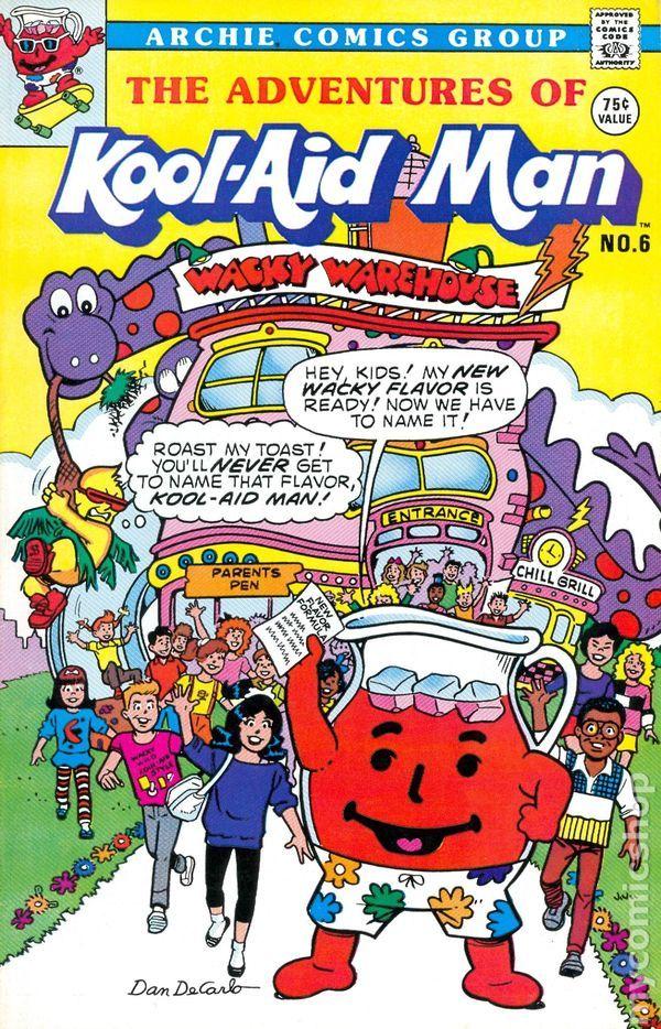 Adventures of Kool-Aid Man (1986 Archie) comic books 1989