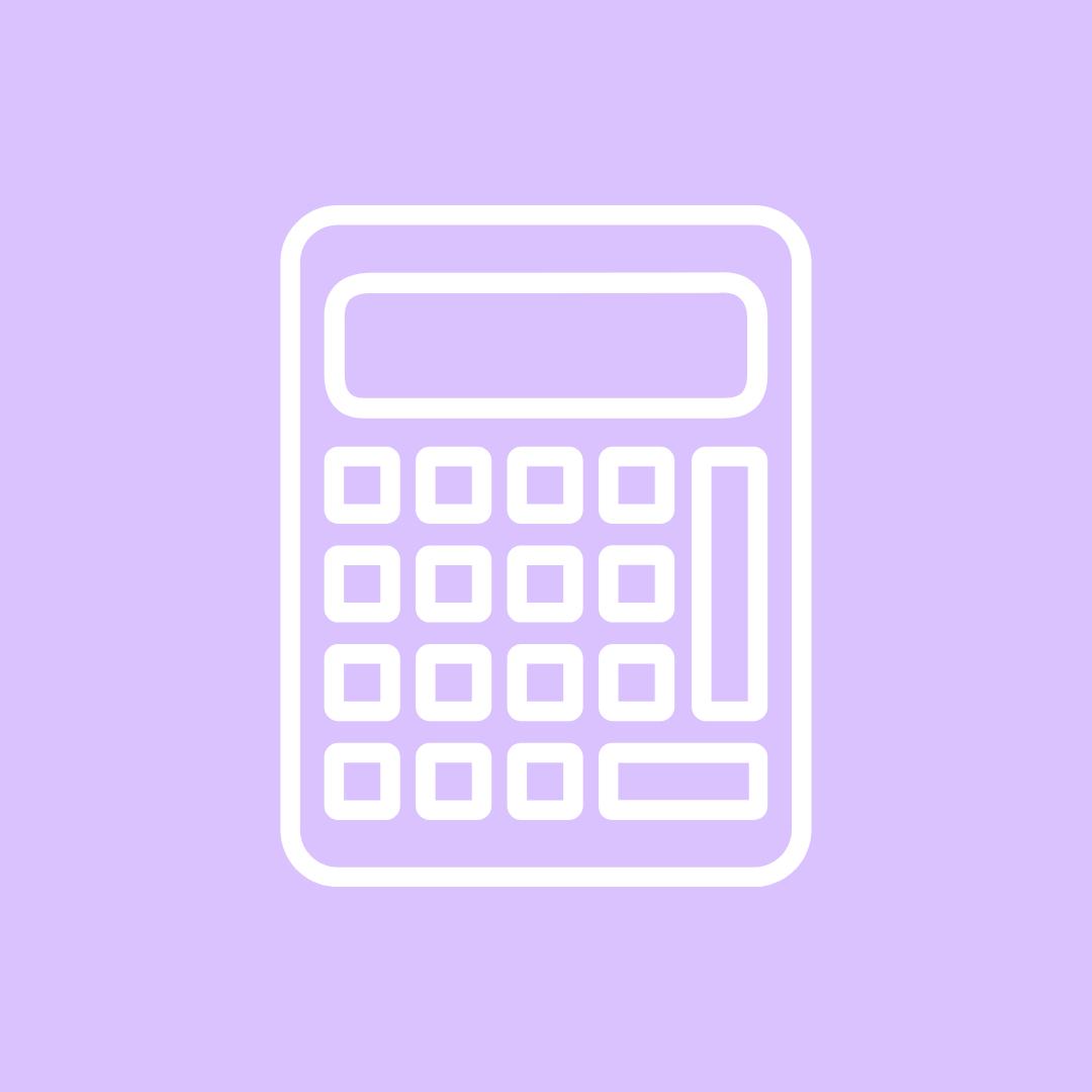 Light Purple Calculator Iphone Wallpaper App Iphone App Design Iphone Icon