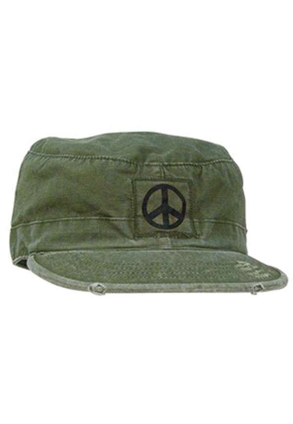 Military Vintage Style Fatigue Cap Uniform Hat Olive Drab Rothco 4508
