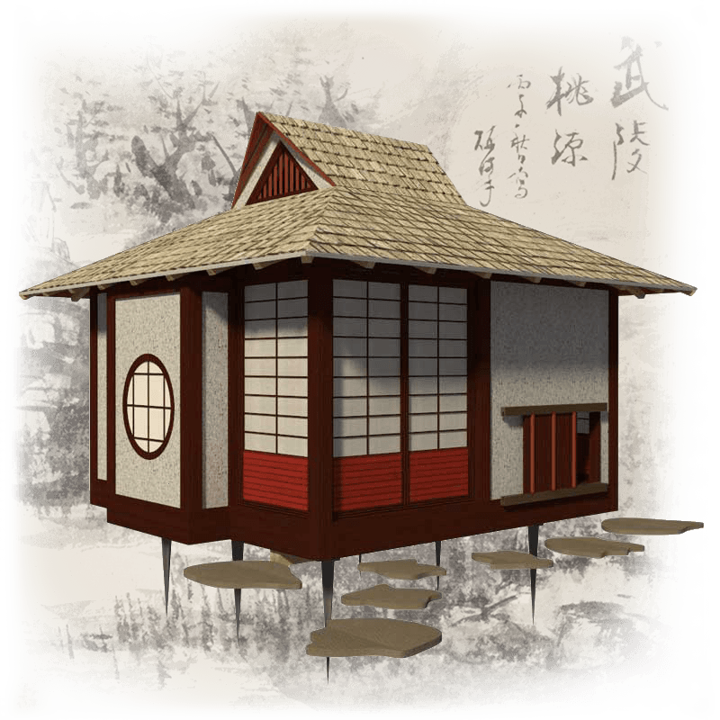 Japanese Tea House Plans Tea House Design Japanese Tea House Tea House,Elementary My Portfolio Cover Design For Kids