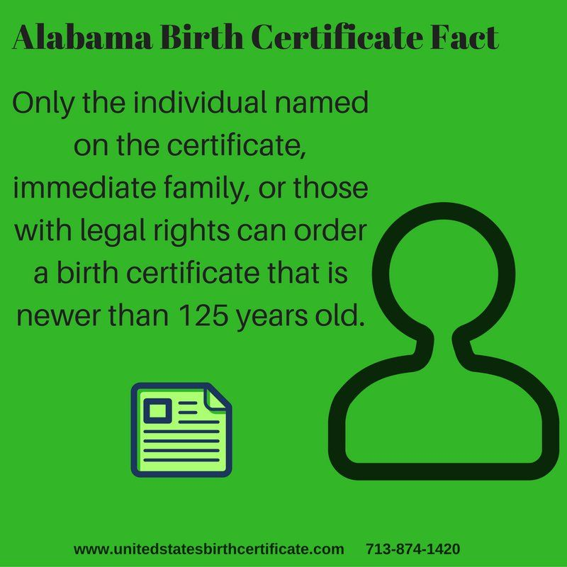 Born in Alabama and need a copy of your birth certificate fast? We - copy certificate picture