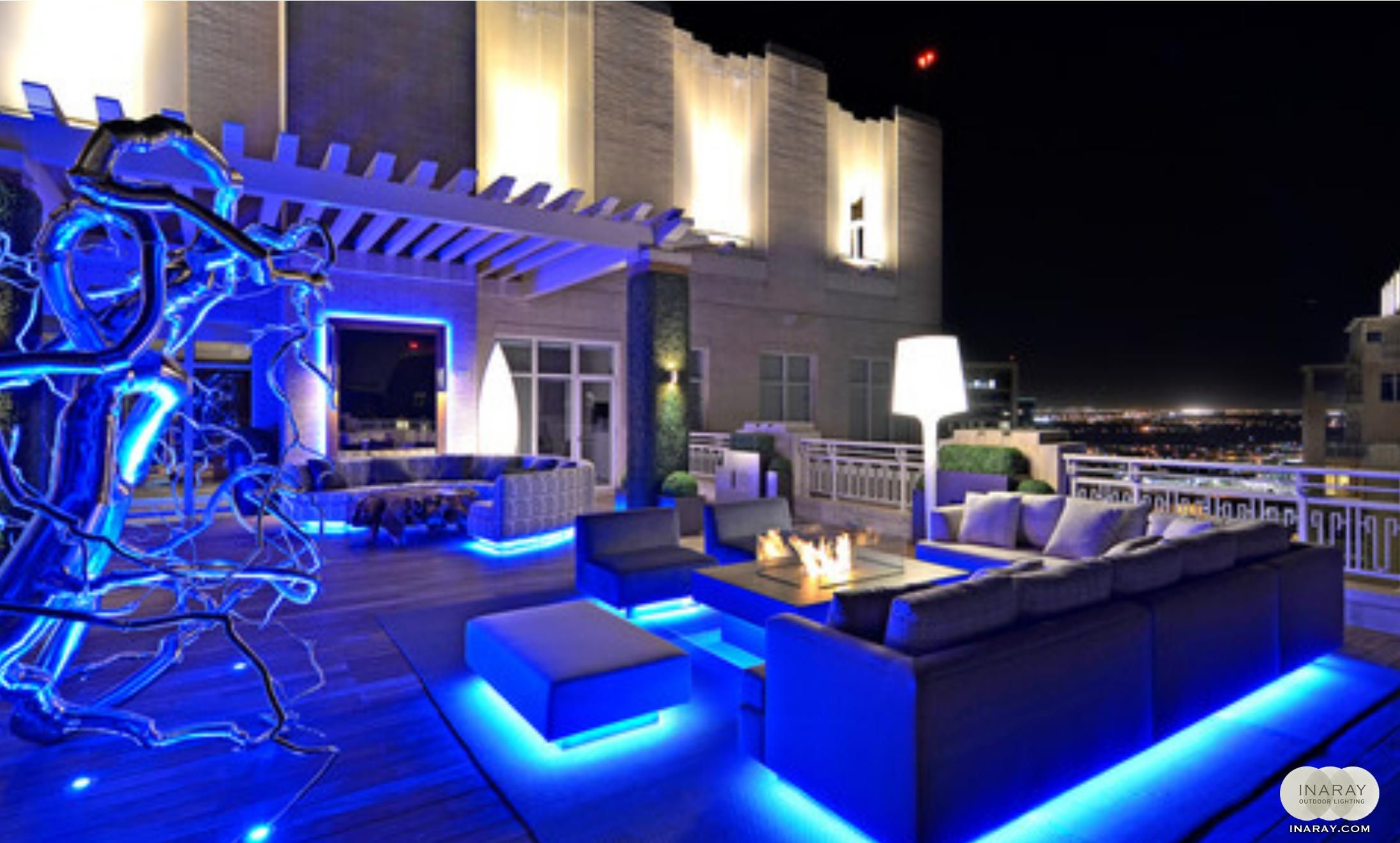 Beau Led Can Light Fixtures Cool Blue Led Indoor Lighting Under Sofa Design  Interior Home Opens Up Outdoor Living Room Decorating Ideas Home Interior  Lighting, ...