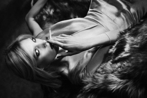 Anja Rubik | Ezra Petronio #photography | Self Service Fall/Winter 2011/12