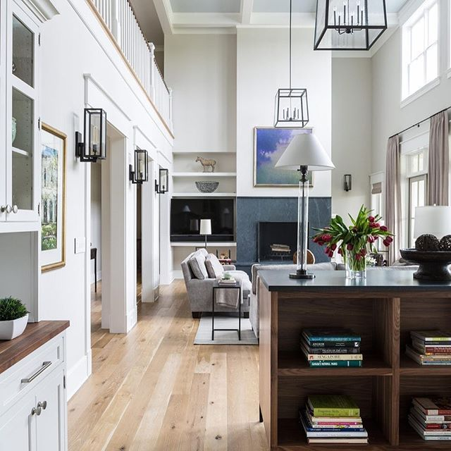 Open space, welcoming style. Shop the look by clicking on ...