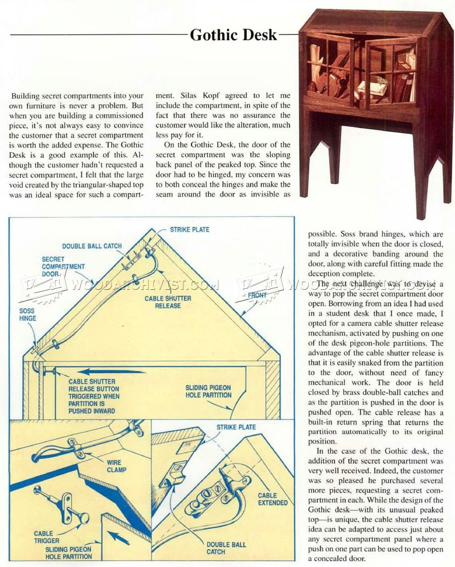 Secret Compartment Furniture Furniture Plans Secret Compartment Furniture Secret Compartment Secret Storage